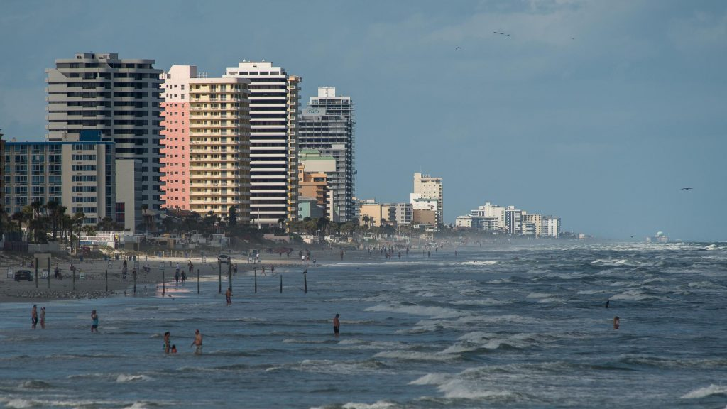 Daytona Beach Surf Report Forecast Map Of Daytona Beach Surf