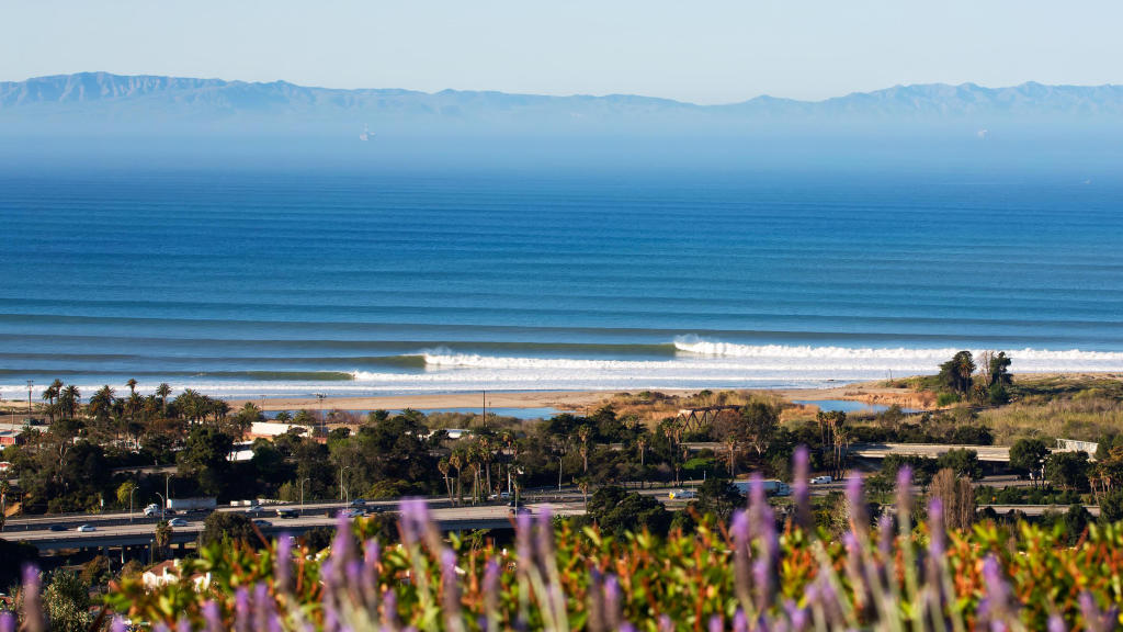 Carpinteria Surf Report Forecast Map Of Carpinteria Surf Spots