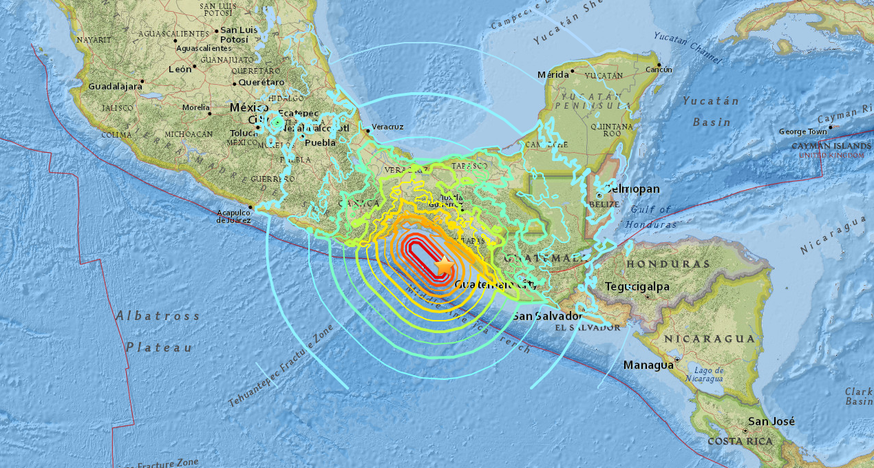 Breaking Deadly Earthquake With Tsunami Hits Mexico Surfline