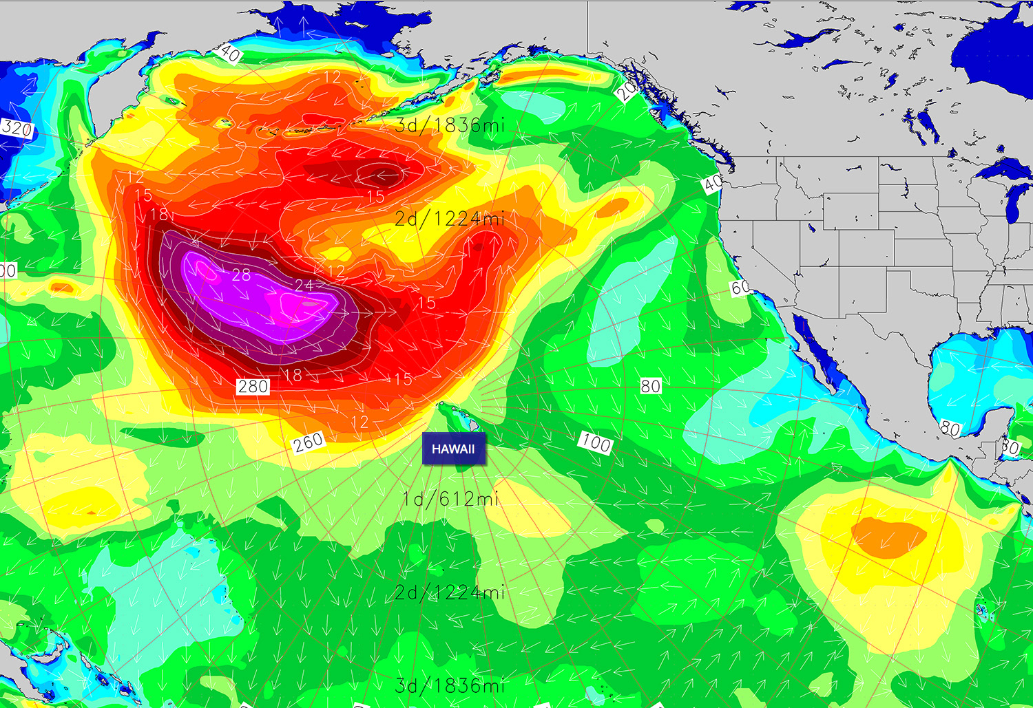 c9c1fab8aa There will be no shortage of swell for Hawaii during the first half of  February