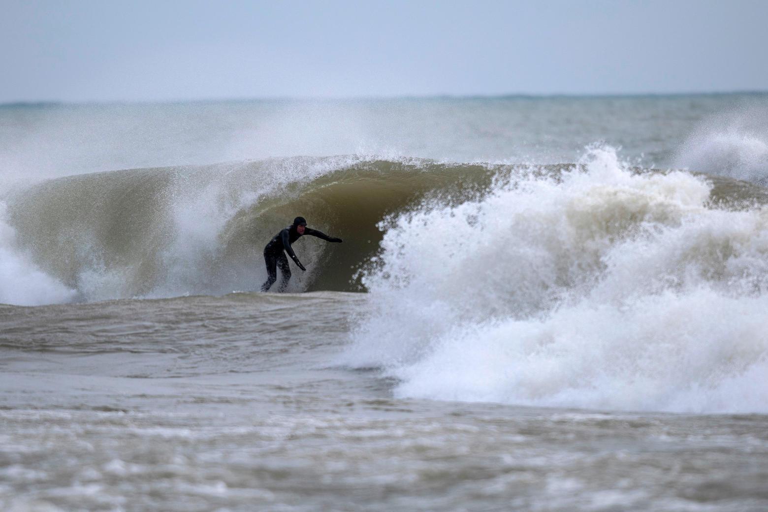 Finding Surf in Sheboygan, Wisconsin