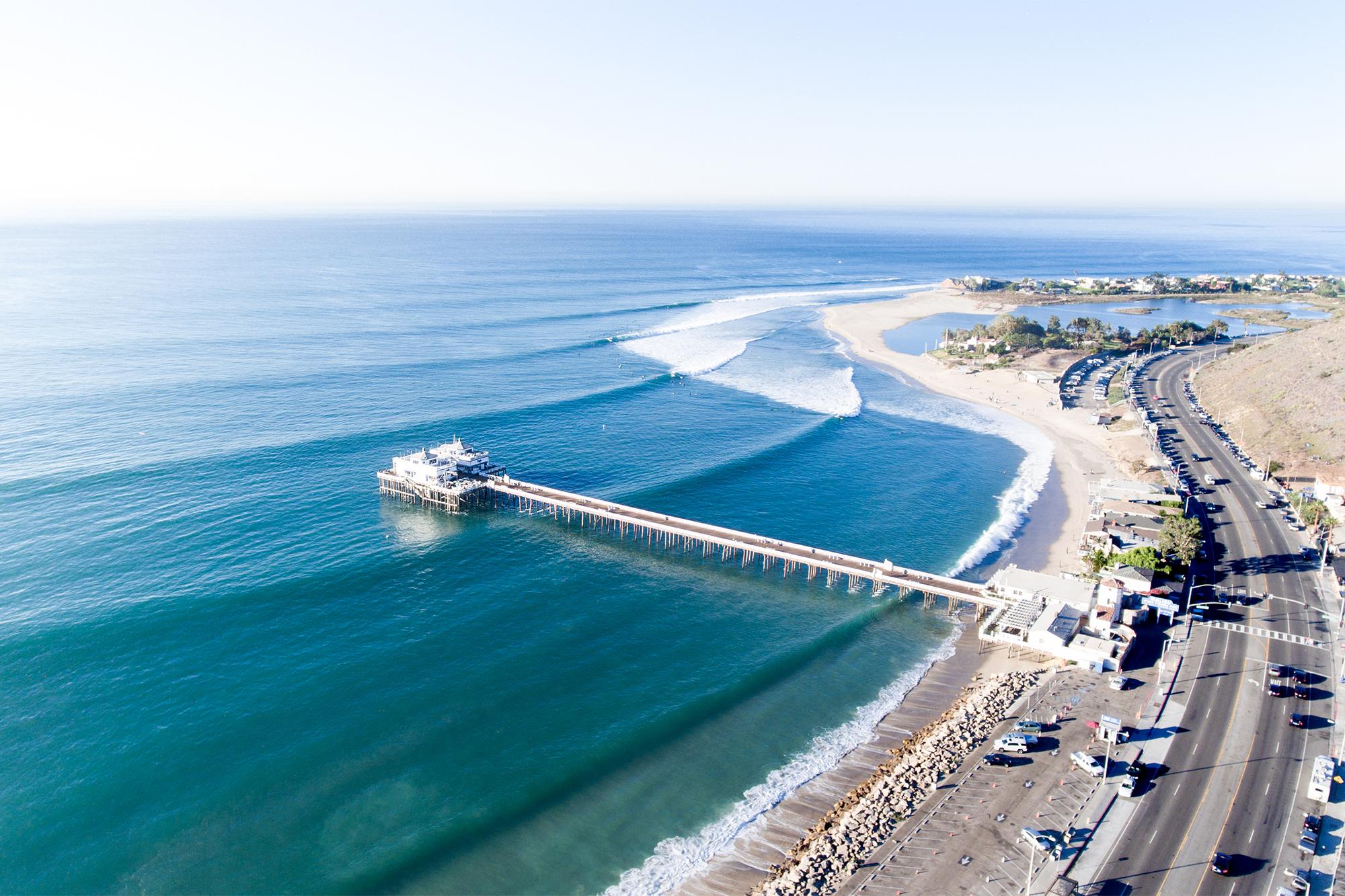 Malibu Point Surfing California