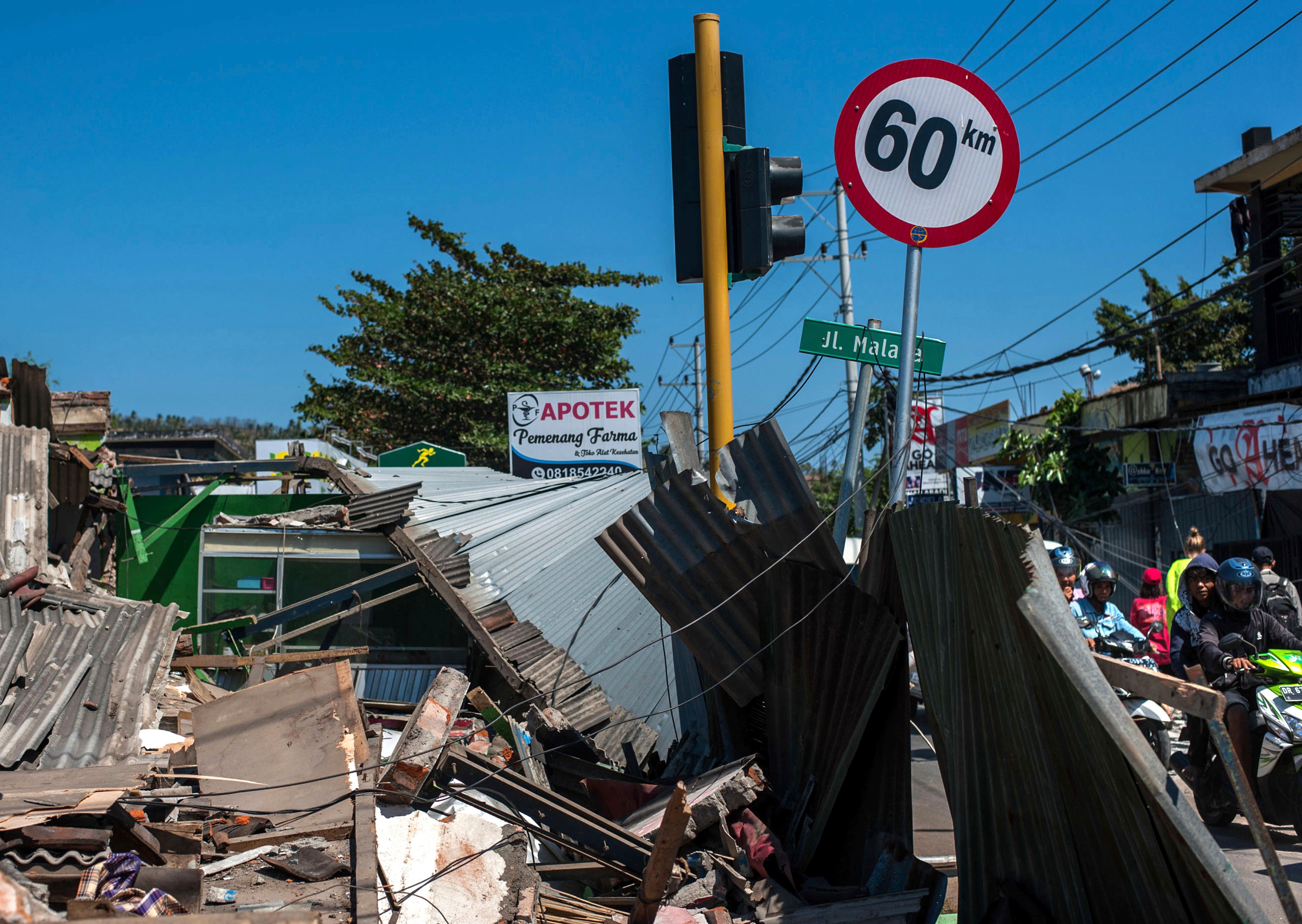 Indonesia issues tsunami warning after 7.0 quake hits Bali