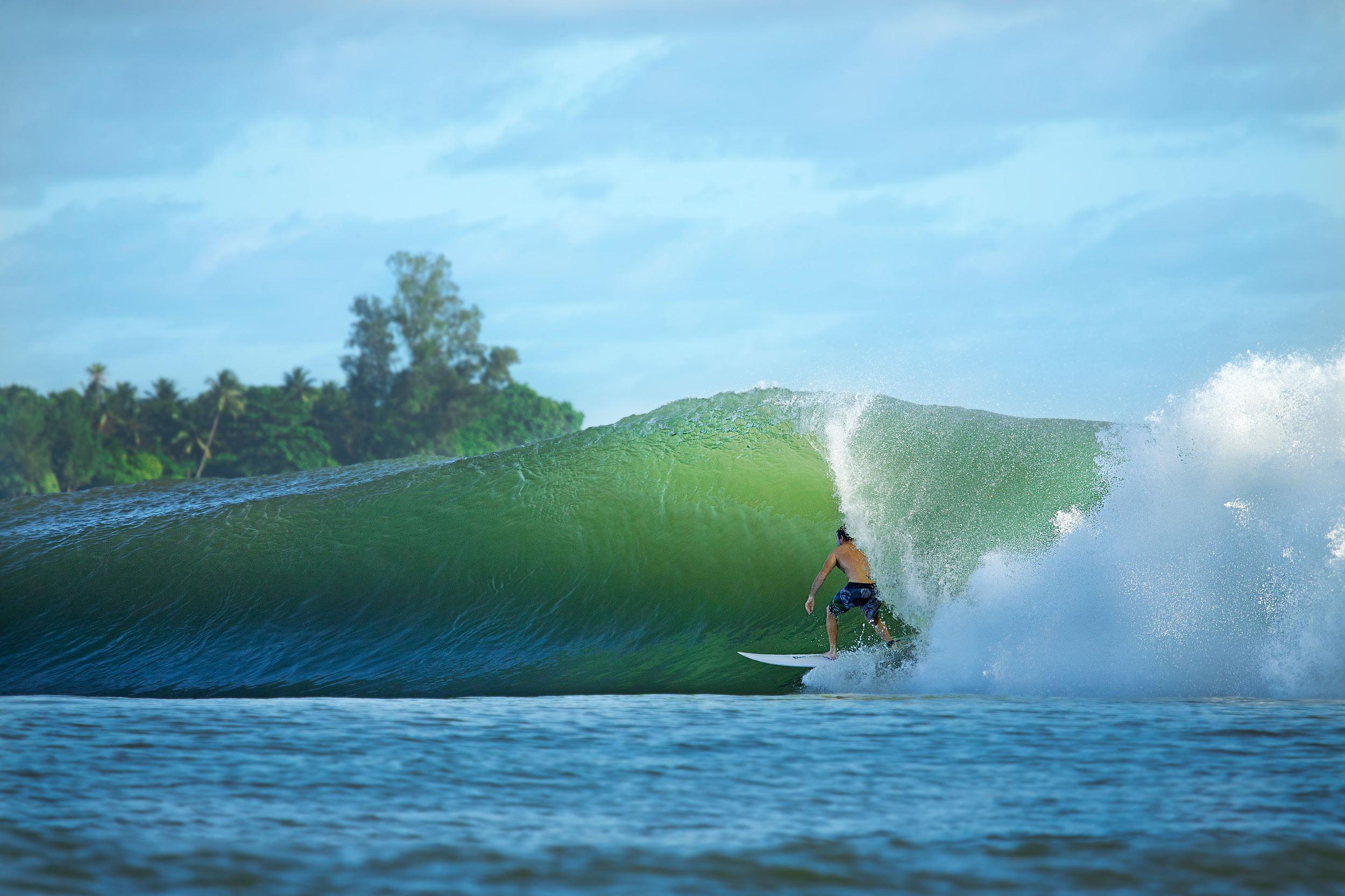 Oceania surf forecast