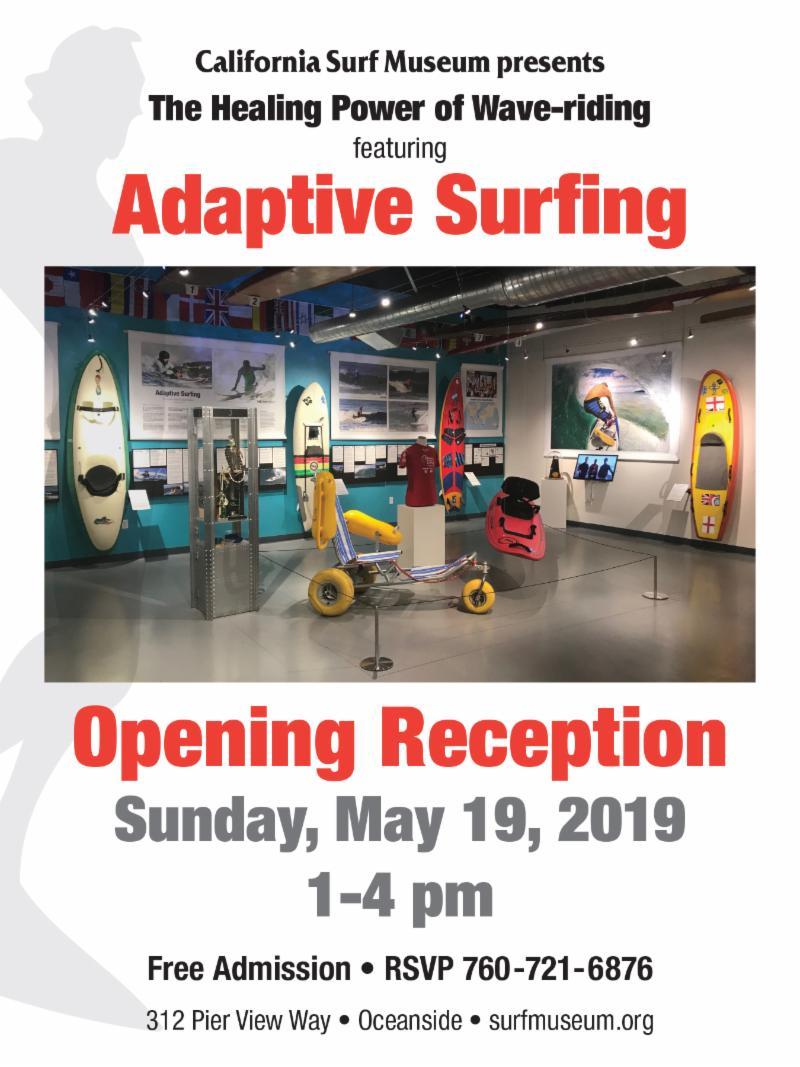 California Surf Museum Presents Adaptive Surfing Exhibit