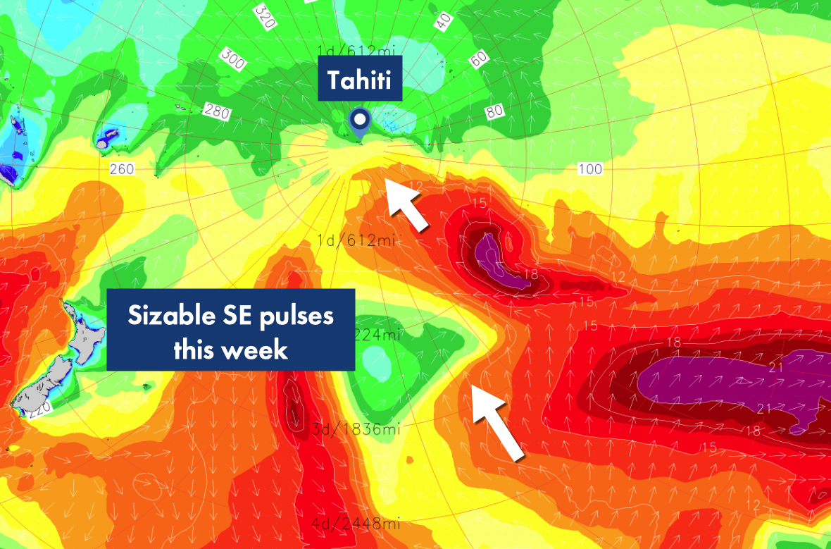 Premium Tahiti South Weather Forecast for Storms, Swell ... on regional map of melanesia, regional map of oceania, regional map of guam, regional map of micronesia islands, regional map of france, regional map of guyana, regional map of southeast asia, regional map of central america, regional map of caribbean, regional map of south asia, regional map of honolulu, regional map of south america,