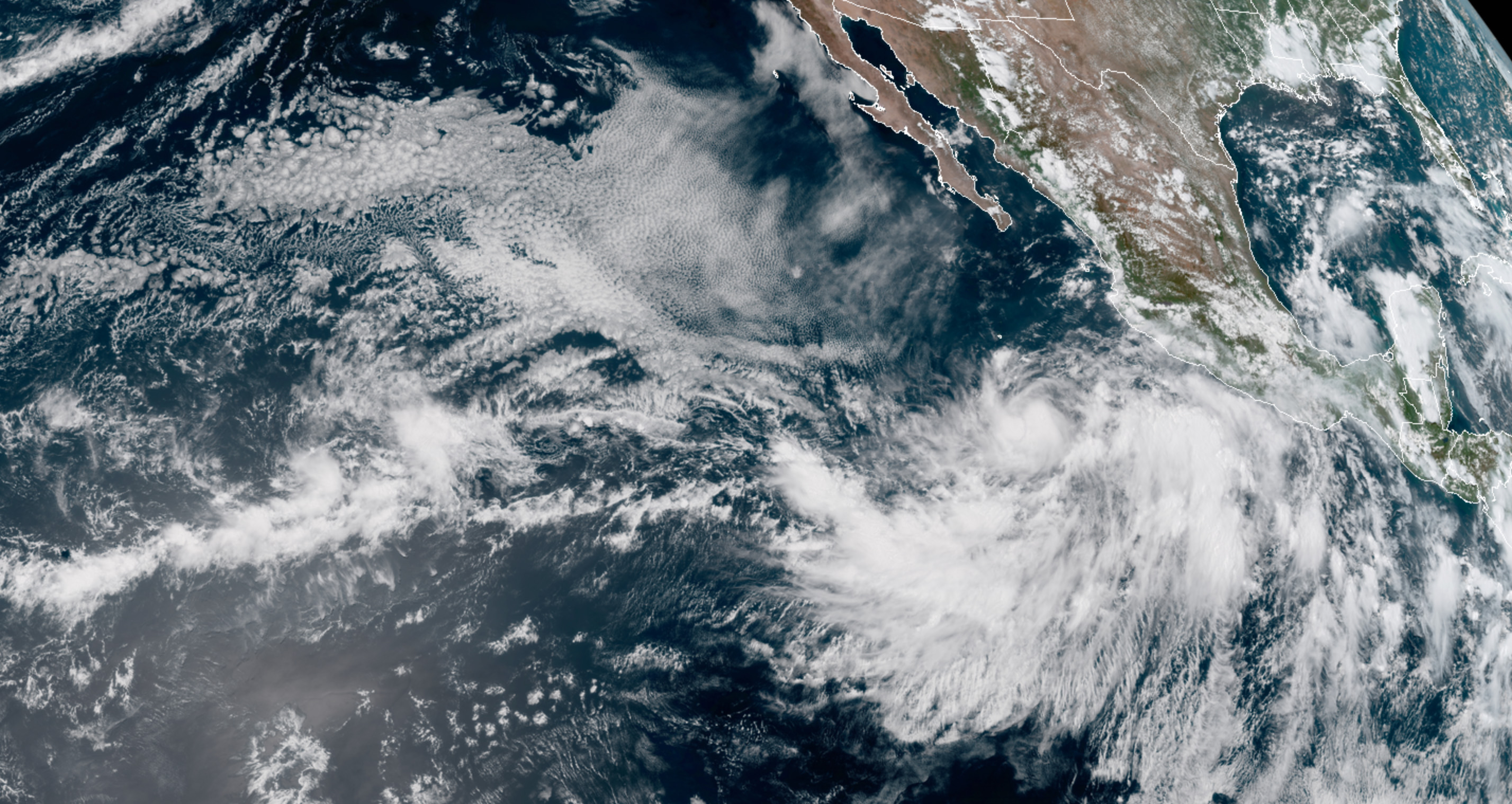 Just-Formed Tropical Storm Ivo Poised to Deliver Fun Surf to Baja, SoCal