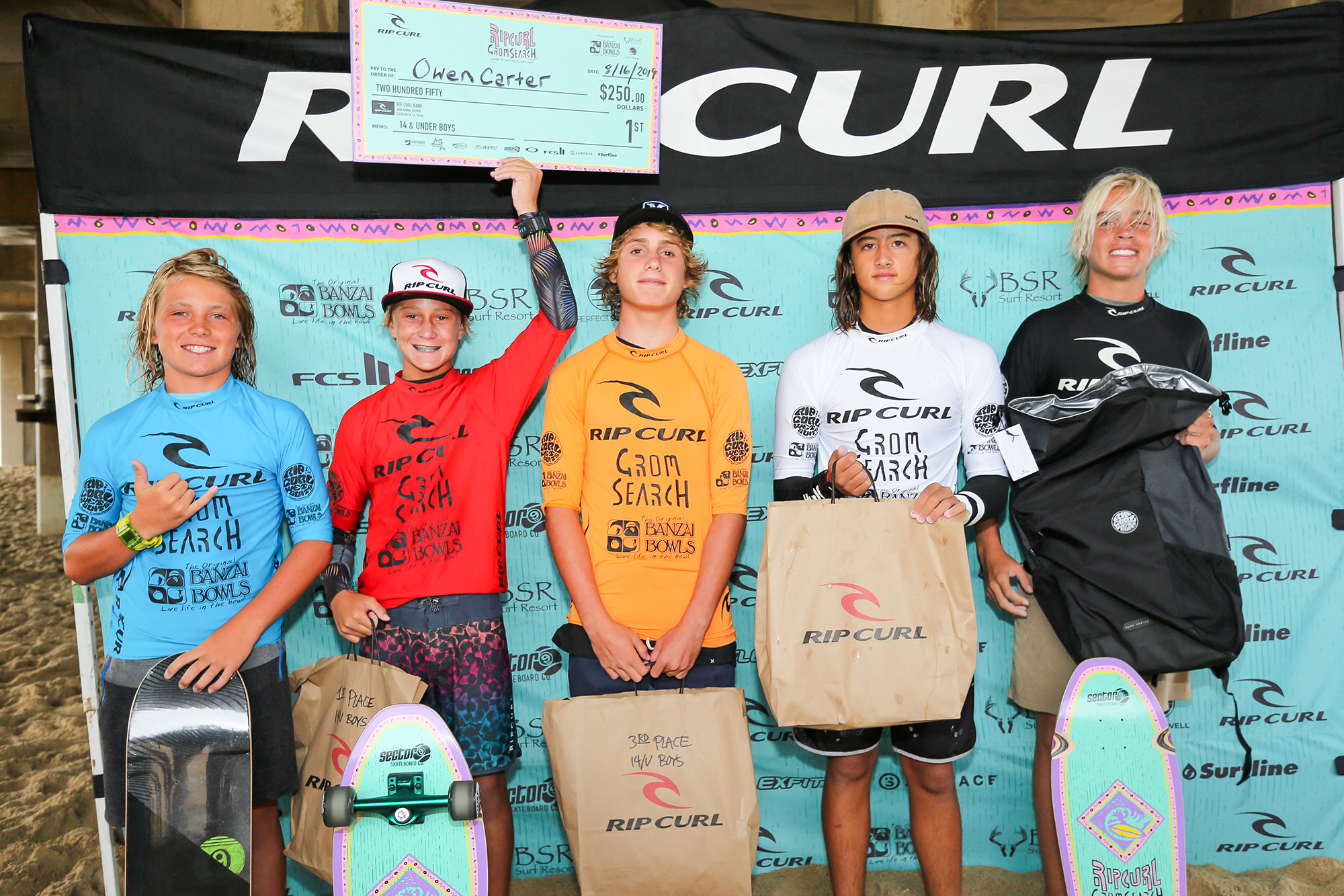 Two IWS Team Riders Qualify for the Rip Curl Grom Search