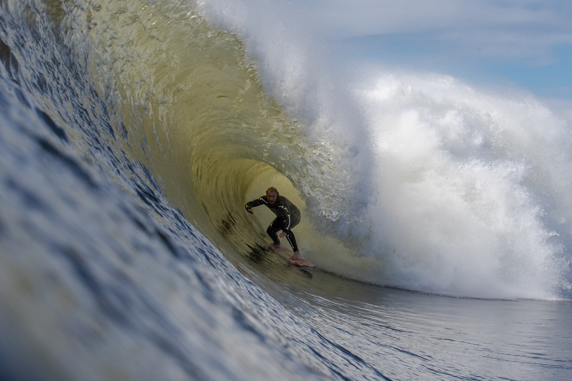 Nor'easter Gone Tropical = New York's Best Swell in 15 Years