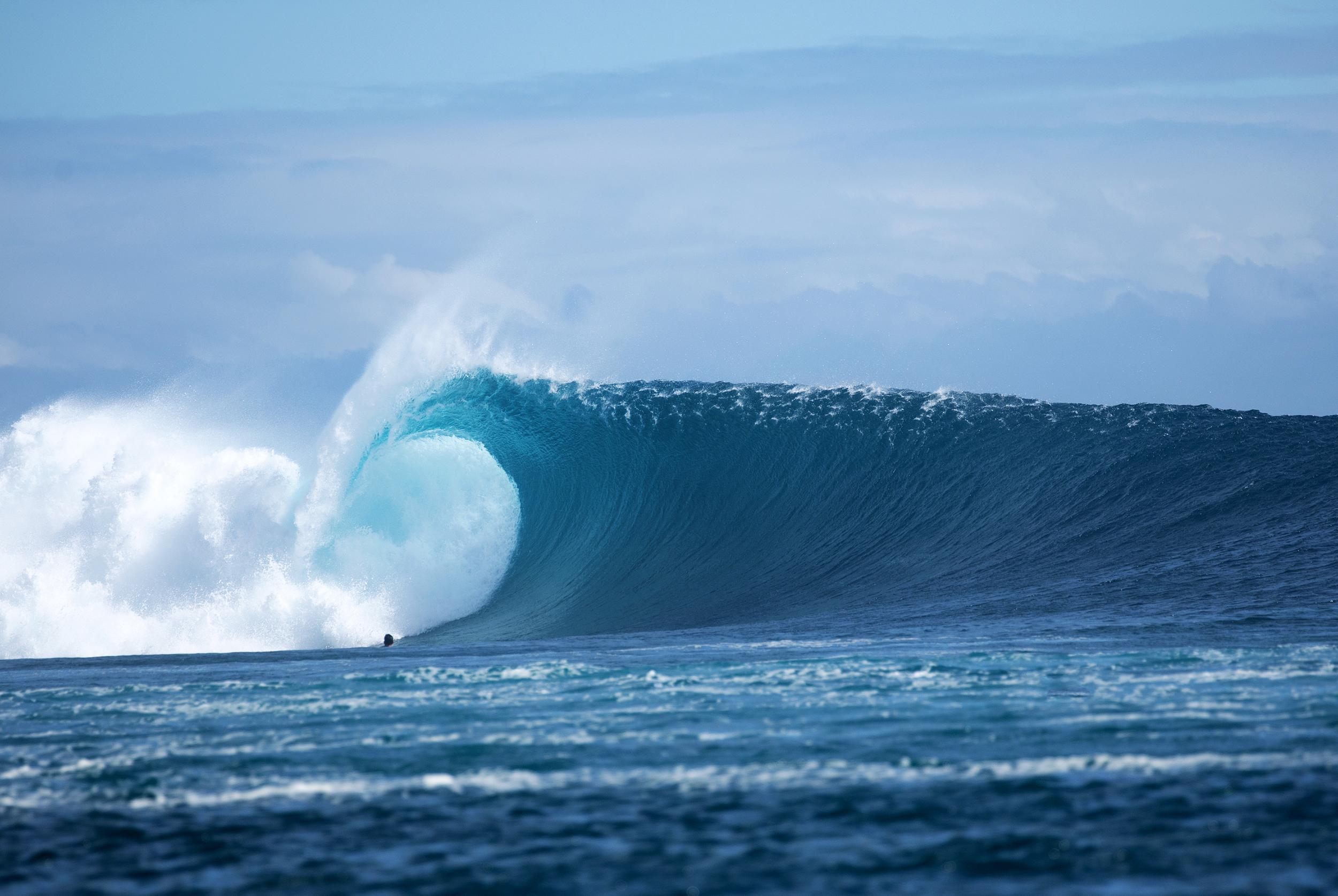 Bueno para Epic, Surfline, Cloudbreak, Tavarua, Fidji, Scott Winer,