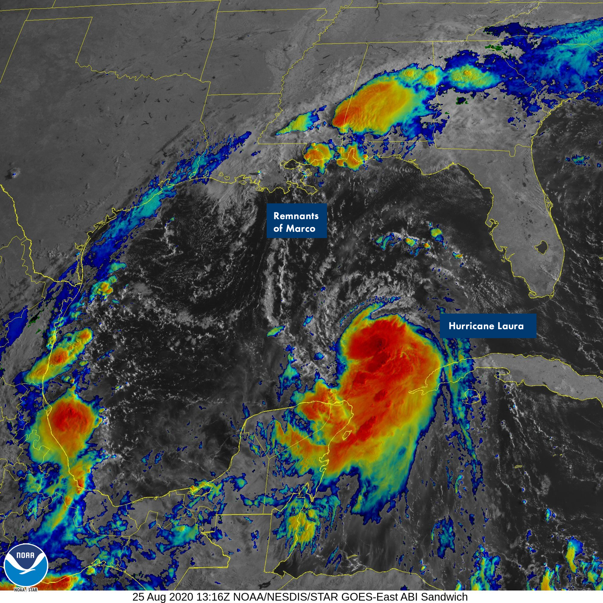 Cat 4 Hurricane Laura Surfline